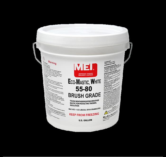 55-80 Eco Mastic White Brush Grade